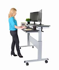 stand up laptop desk luxury rolling standing desk flat panel tv cart stand up 12
