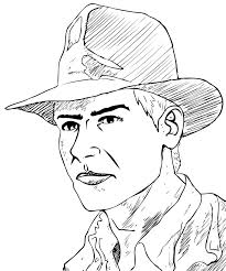 Indiana Jones Coloring Pictures