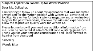 be confident not just in your follow up email but also in the quality of your resume and cover letter by following up and being persistent follow up email sample after sending resume
