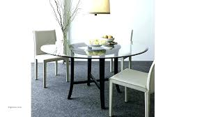 round gl table top 3 4 thick tempered 48 inch topper contemporary