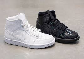 patent leather is a theme for women s air jordan 1 mids for summer