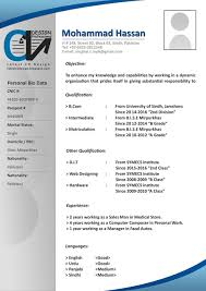 It Resume Format Download In Word Latest Cv Design Latest Cv Formats Free Download Latest Cv Formats