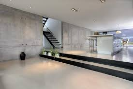 concrete floor and wall modern