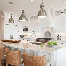 Hanging Lights In Kitchen Kitchen Island Lighting Height Modern White Kitchen Island