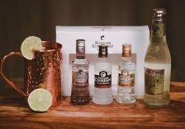 the brobasket gift baskets for men moscow mule gift basket russian standard vodka