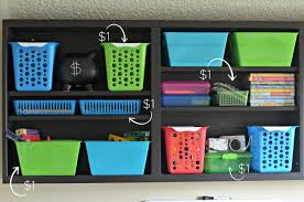 diy office organization 1 diy home office. How To Create A DIY Homework Station For Less - Dollar Tree Bins Diy Office Organization 1 Home