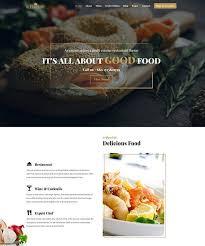 Wp Restaurant Themes 1 Wordpress Restaurant Theme 2019 With Booking Woocommerce