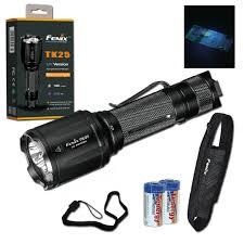 Fenix Lights Fenix Tk25 Uv Dual Light Source 1000 Lumen Tactical Ultraviolet Flashlight