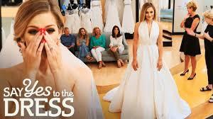 Say Yes To The Dress Uk Designers Miss America Wants A Simple Elegant Gown Say Yes To The Dress Atlanta