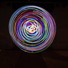 Glowcity Light Up Led Waist Hoops Sparkling Gem Walmart Com