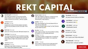 1,392 likes · 4 talking about this. Rekt Capital On Twitter Staying Home Subscribe To My Youtube Channel For Daily Crypto Videos Https T Co Vykav14lsg Btc Bitcoin Https T Co Kaq3z2jt4y Https T Co Yiqlpkkjko