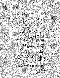 Coloring Pages With Quotes Free Printable Coloring Pages For Adults