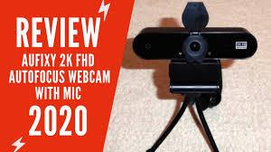 Aufixy <b>2K Full HD</b> Webcam Review   Aufixy <b>2K</b> Webcam with ...