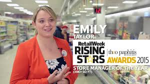 Rwrs 2015 Emily Taylor Shortlisted For Store Manager Of The Year