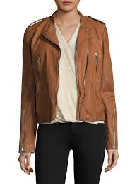 rag bone lyon leather jacket brown women s 100 quality guarantee unique style whole