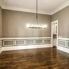 wainscoting dining room diy. Wainscoting In Dining Room Gray With White  Diy G