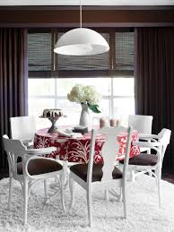 painted dining room furniture ideas. Contemporary White And Brown Dining Room Painted Furniture Ideas F