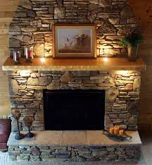 image of rustic fireplace mantel