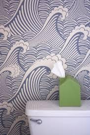 cool wallpaper bathroom