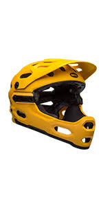 Amazon Com Bell Sanction Adult Full Face Bike Helmet Bmx