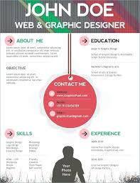 Infographic Resume Template Free Resume Templates That You Can