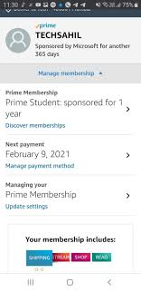 amazon prime free trial without credit