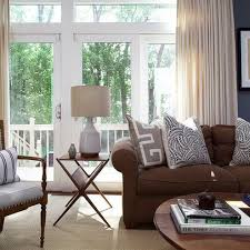 Good Decorating With A Brown Sofa