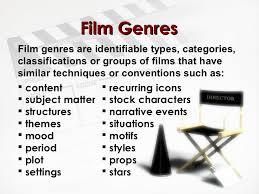 Film Genres Film Genres