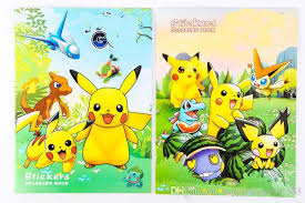 prettybaby pikachu coloring book painting drawing book cartoon poke go coloring books relieve stress for children stickers x mas gift colouring books