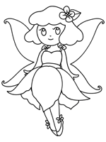 Here you will find loads of fun coloring pages and pictures to color for kids. Fairies Coloring Pages