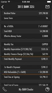 Leasematic Auto Car Lease Loan Calculator Iphone App
