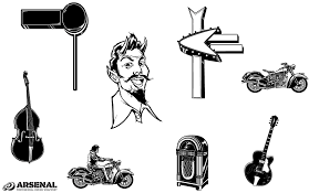 50s Vector Pack By Go Medias Arsenal