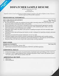 job description examples for resume Pretentious Idea Dispatcher Resume 1 Dispatcher  Resume Driver .