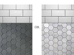 marvelous hex tiles for bathroom floors with best 10 hexagon tile bathroom ideas on shower