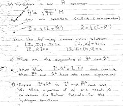 quantum mechanics homework help quantum mechanics homework help