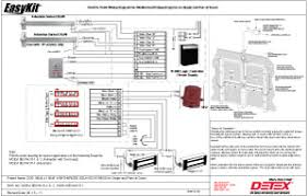 making it easy Detex Wiring Diagrams included riser diagram, detailed wiring diagram and theory of operation help insure an easy and fast installation Basic Electrical Schematic Diagrams