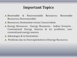 renewable and non renewable resources ppt video online  important topics renewable nonrenewable resources renewable resources nonrenewable resources destruction versus