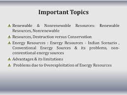 renewable and non renewable resources ppt video online  important topics renewable nonrenewable resources renewable resources nonrenewable resources destruction versus