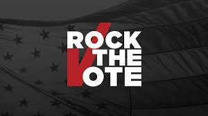 Voting Chart Maker Rock The Vote Register To Vote Find Election Info And More