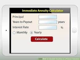 image led calculate annuities on a finance calculator step 2
