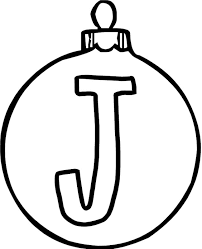 Small Picture Ornament J Alphabet Coloring Page Alphabet Coloring pages of