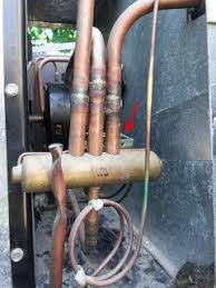 ac repair reversing valve solenoid failure roadtreker this is a closer view of the reversing valve the solenoid is toward the inside red arrow