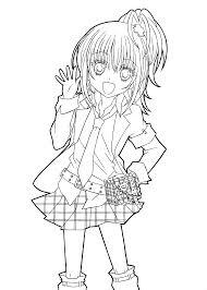 Hotaru From Shugo Chara Anime Coloring