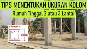 Untuk membentuk teras yang sempurna, model tiang teras harus diperhatikan. Ukuran Kolom Rumah 3 Lantai Hardworkingart Cute766
