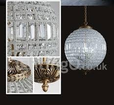 globe modern led k9 crystal ceiling pendant light indoor chandeliers home hanging down drum lighting lamps