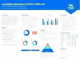 Poster Presentation Templates Free Scientific Academic Template