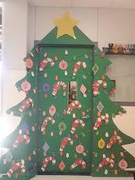 christmas classroom door decorations. Christmas-tree-classroom-door-ideas Christmas Classroom Door Decorations E