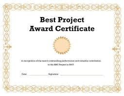 Sample Certificate Award Award Certificate Templates Certificate Template Downloads
