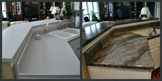 flat black countertop paint rustoleum kit granite before and after published at a in home improvement