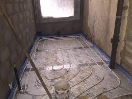 Screeding Bathroom Floor Choosing A Right Floor Screed Mix For Underfloor Heating Ufh